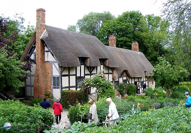 Stratford upon Avon - Anne Hathaway Cottage