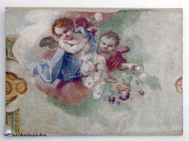 Kladruby bencés kolostor freskók