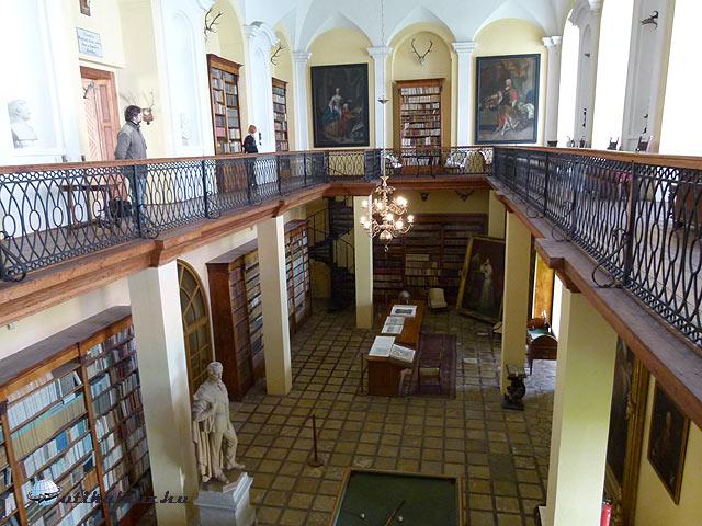 Kladruby bencés kolostor Windisgratz könyvtár