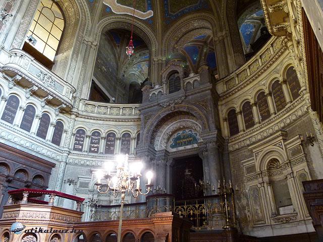 Pilsen Nagyzsinagóga szentély