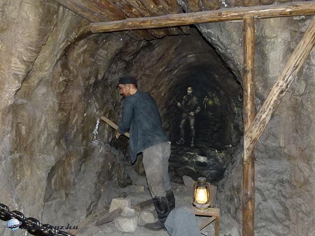 Pilsner Urquell, Plzeňský Prazdroj Pilsen bányás dioráma
