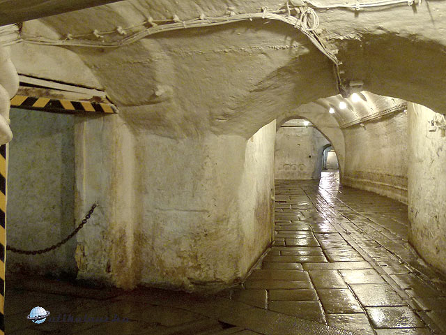 Pilsen Pilsner Urquell, Plzeňský Prazdroj föld alatti folyosó