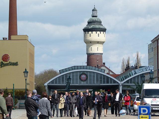 Pilsen Pilsner Urquell, Plzeňský Prazdroj víztorony