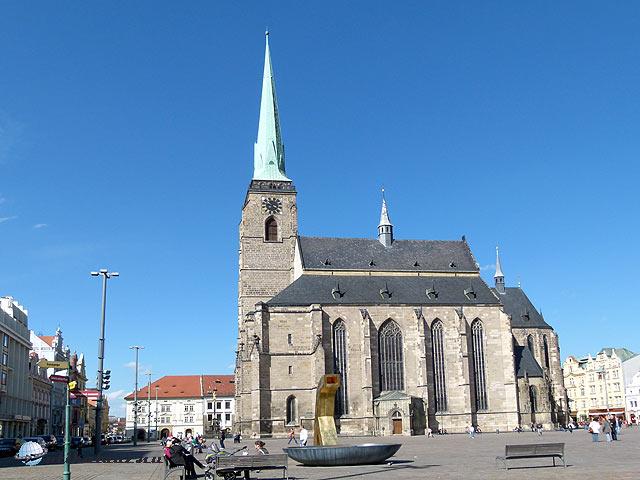 Pilsen Szent Bertalan templom