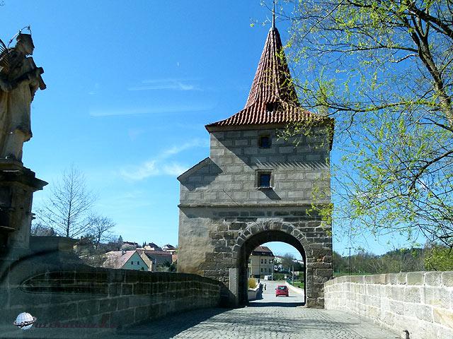 Mze-folyó hídja Ezüstváros Stribro