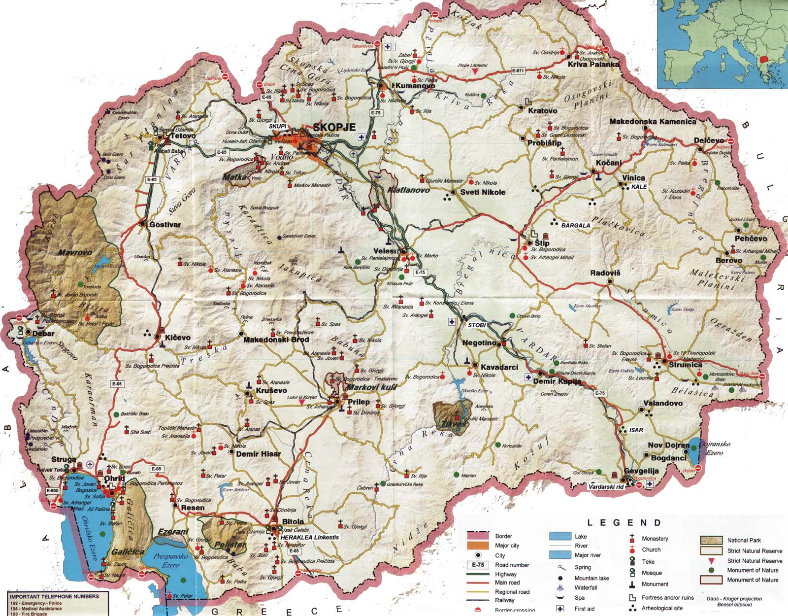 Macedonia in Maps - a Link Atlas on