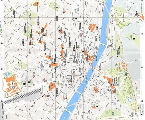 firenze térkép Denke Gergely: Kirándulás a reneszánszba – Firenze – Olaszország  firenze térkép