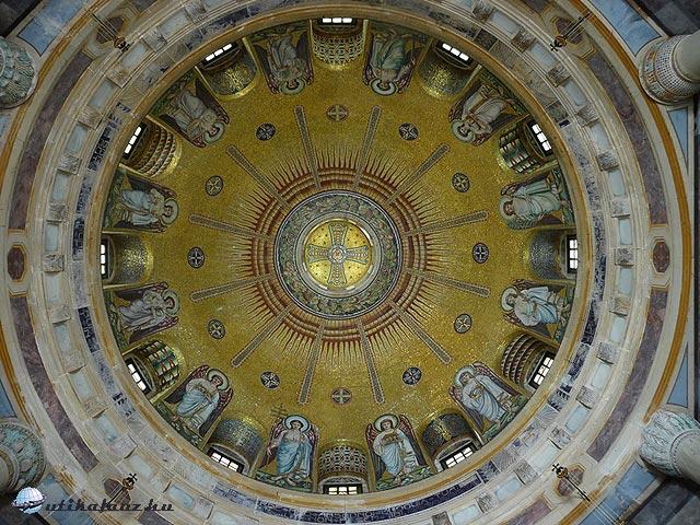 Az Andrássy-mauzóleum kupolája