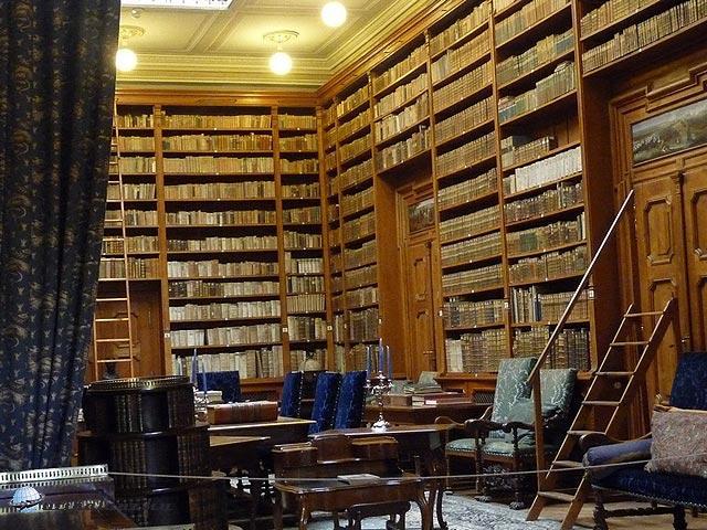 A betléri Andrássy-kastély könyvtára