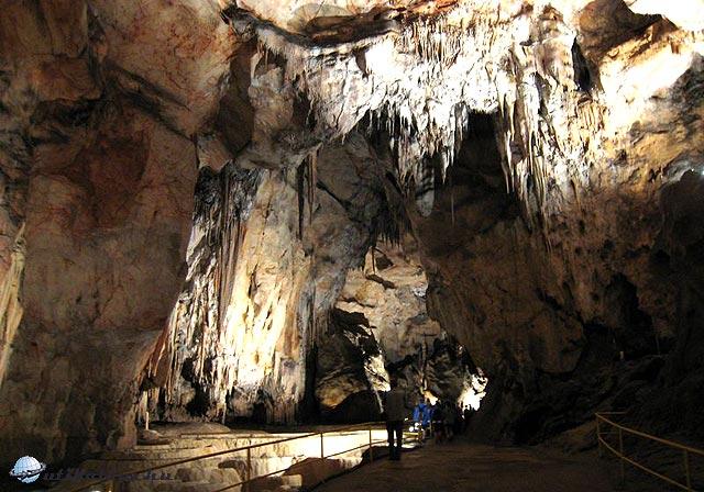 Cseppkövek - Domica barlang - Szlovákia