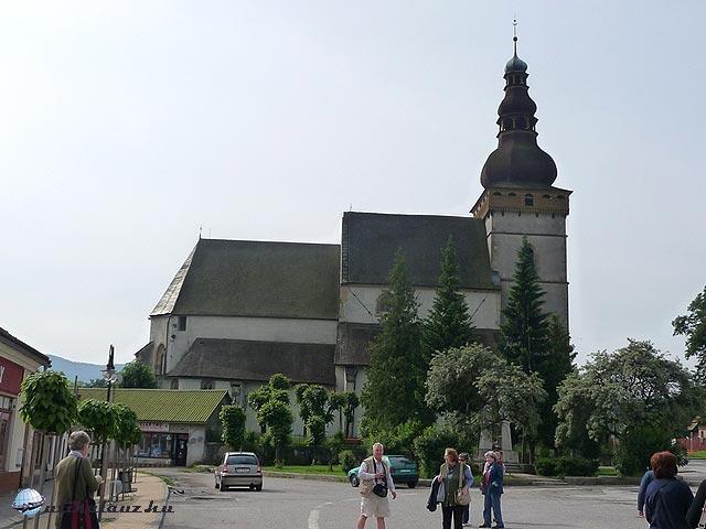 Evangélikus templom Csetneken