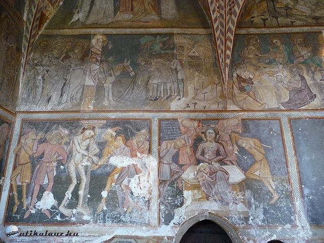 Román-gótikus templom Mártonházán