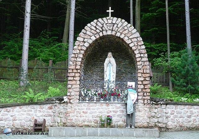 Mária búcsújáróhely Várhosszúrét határában