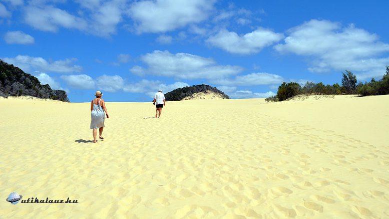 Fraser-sziget - homok homok hátán