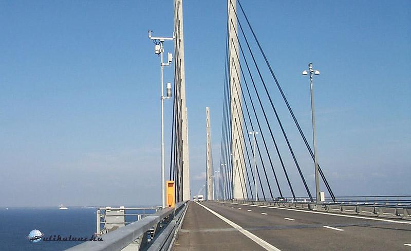 Öresund-híd Koppenhága és Malmö - Dánia és Svédország - között - fotó Győrffy Árpád