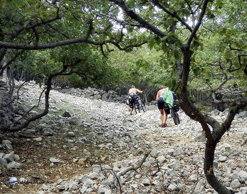 Baska hegy felfele