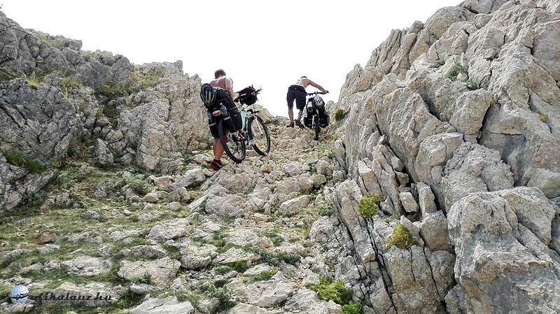 Baska hegy utolsó méterek
