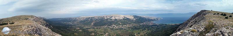 Baska hegytető panoráma