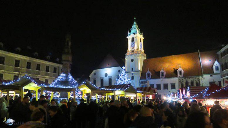 Az idén is az Óváros tér a főhelyszíne a Pozsonyi karácsonynak