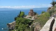 Ohrid, kaneóni Szent Jovan-templom