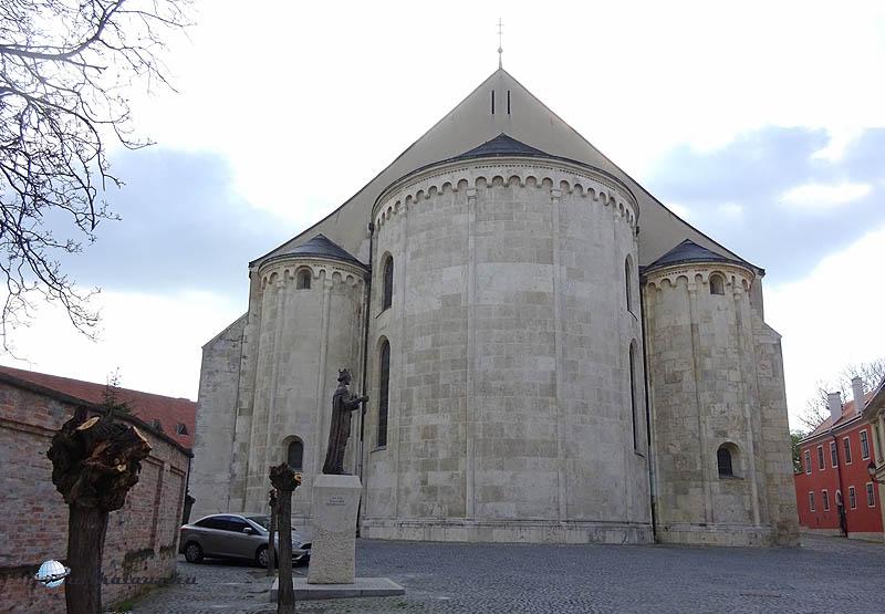 Győr - A főszékesegyház apszisa