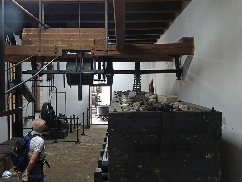 Pápa - Kékfestő Múzeum - mángorló