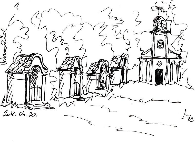 Városlőd - A Kálváriától szép kilátás nyílik a falura
