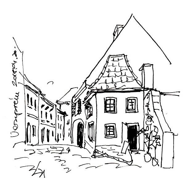 Veszprém - Utca a Várban