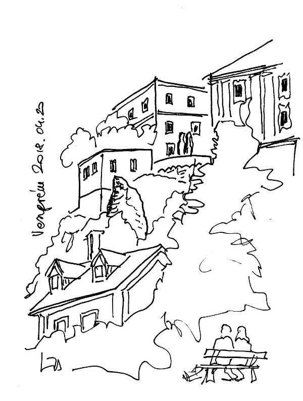 Veszprém - A vár a fejünk felett