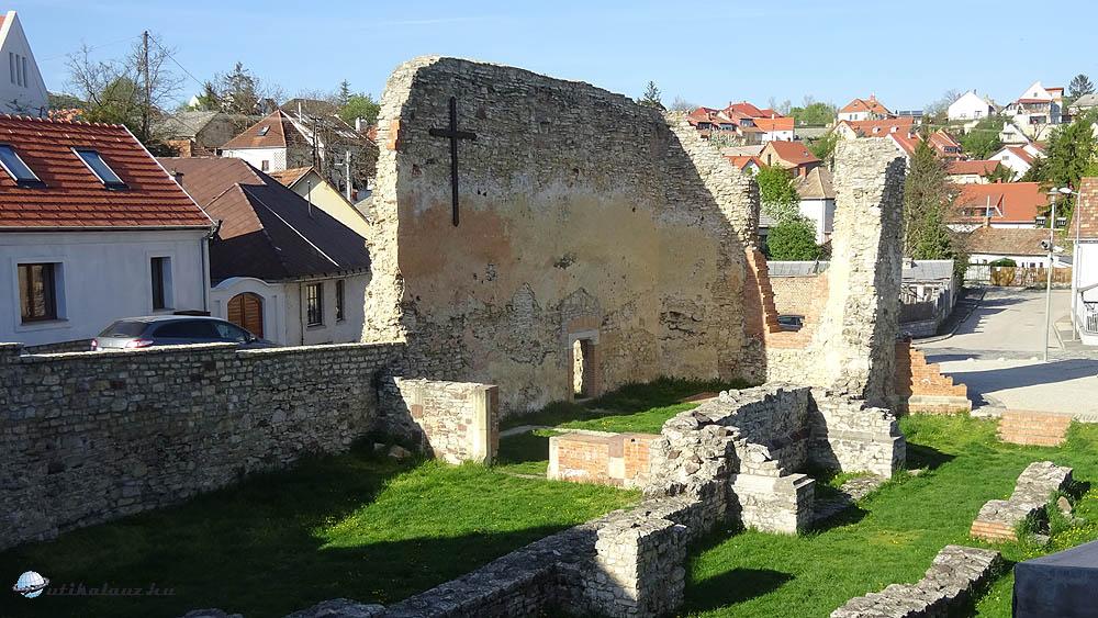 Veszprém - Itt élt gyermekként Szent Margit