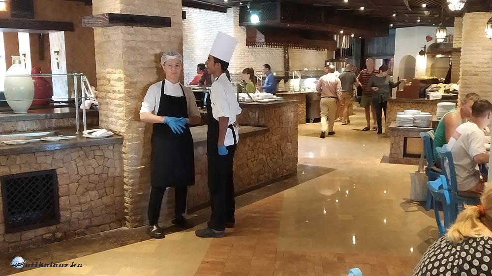 A látvány konyhával is rendelkező étterem