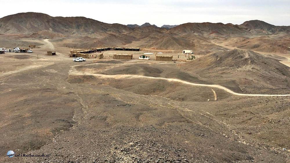 A Beduin falu