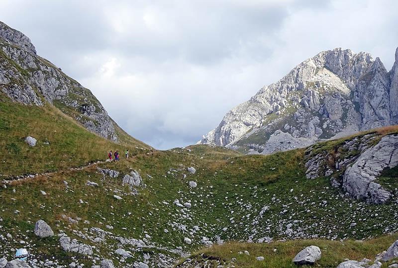 Karsztjelenség 2000 méter fölött