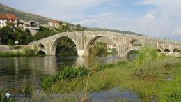Még a török időkben épült híd a Trebišnica felett